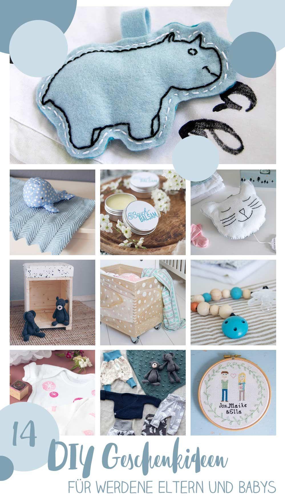 14 schöne DIY Geschenke für Eltern und Babys - Weihnachten oder ...