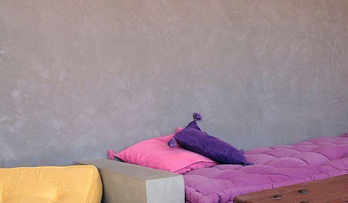 Intonaco Decorativo In Cemento Colorato Per Interni Tarente Marius