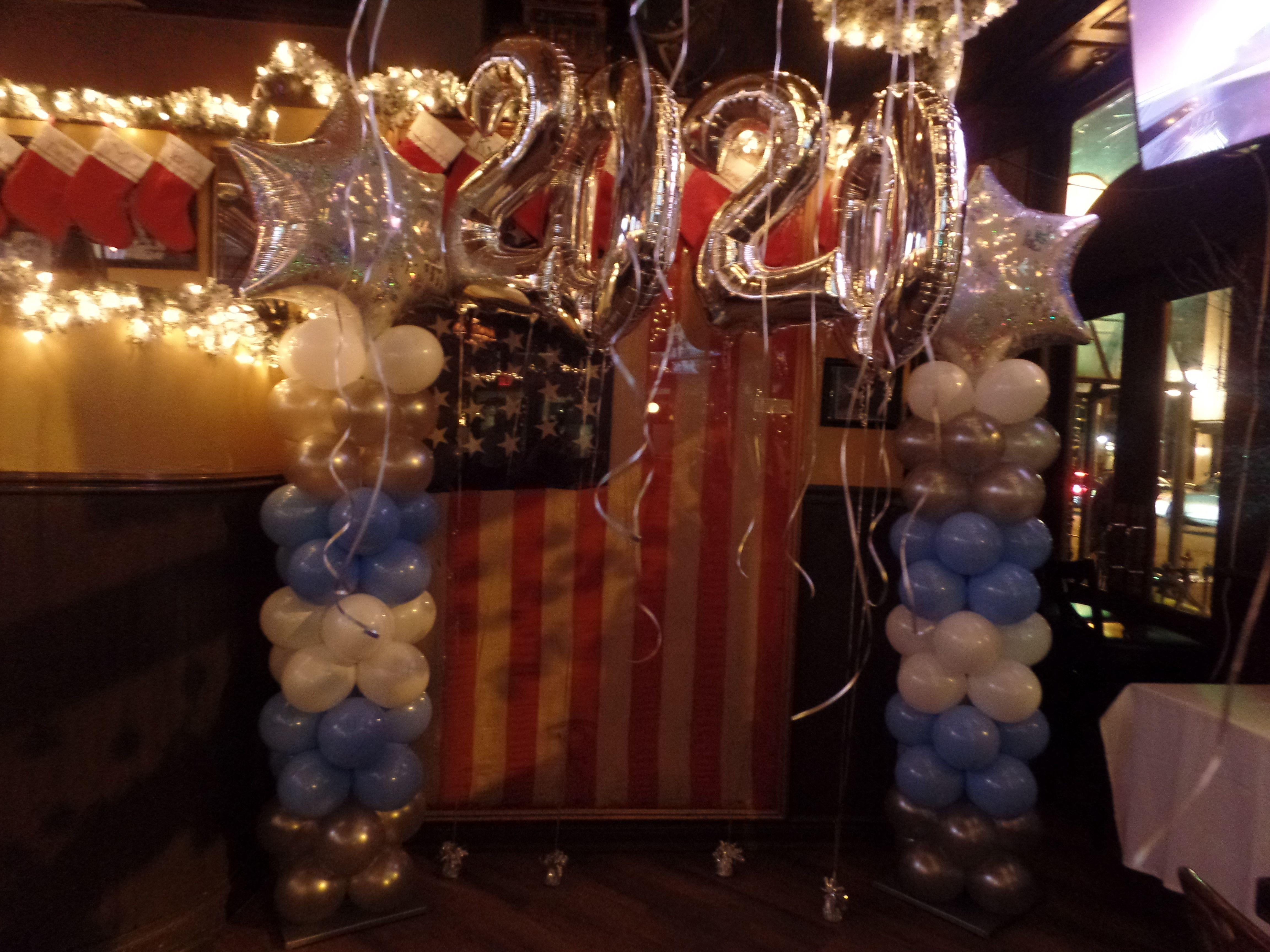 186) New Year's Eve Winter Wonderland Theme Balloon ...