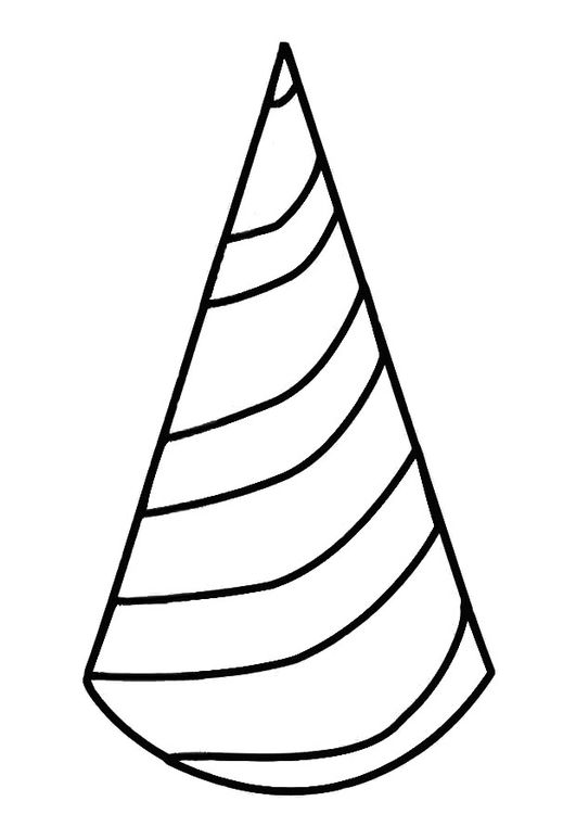 Coloring Page Hat Coloring Pages Carnival Crafts Color
