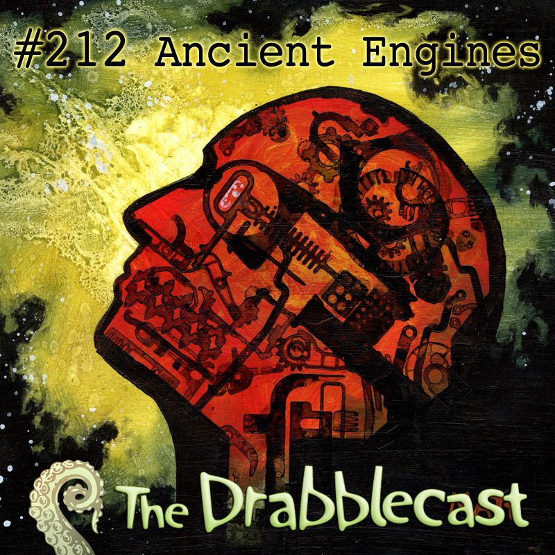 Drabblecast 212 Cover- this painting should get a frame soon and be put up on etsy