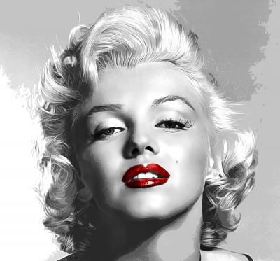 Risultati Immagini Per Immagini Marilyn Monroe Bianco E Nero Con Rossetto Rosso