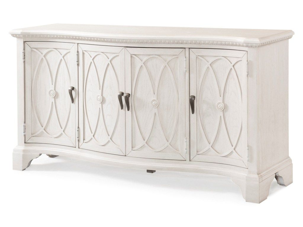 Jasper County Lanier Tv Stand With Wire Management And Power Outlets By Trisha Yearwood Home Collection By Klaussner At Miller Home Living Room Console Dining Room Arm Chairs Dining Room Server