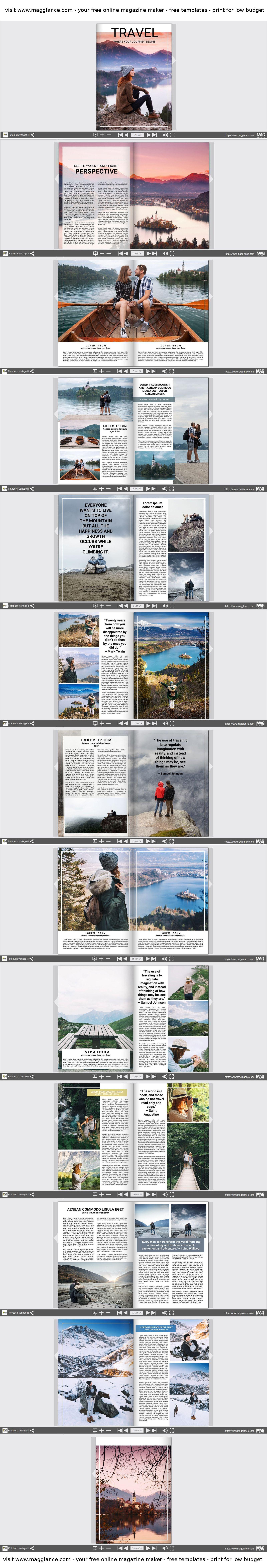 Pin von MAG GLANCE (Germany) auf Fotobuch Vorlagen | Pinterest ...