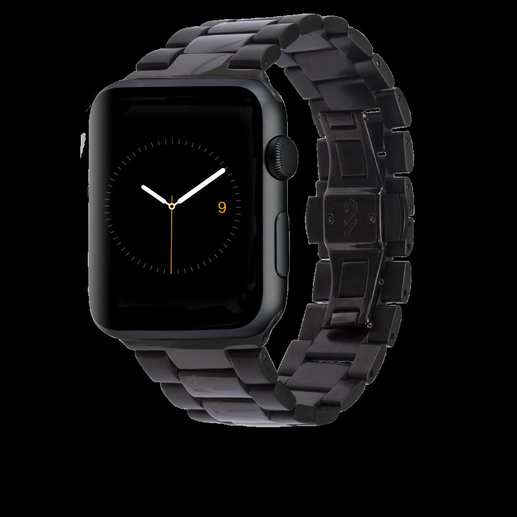 Black Link Apple Watch Band 42mm 44mm Apple watch