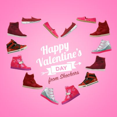 Happy Valentine S Day From All Of Us At Skechers Skechers Elite Skechers Kids