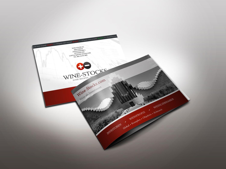 Imagebroschüre Prospekt Design Wine Stocks www.wine-stocks.com ...