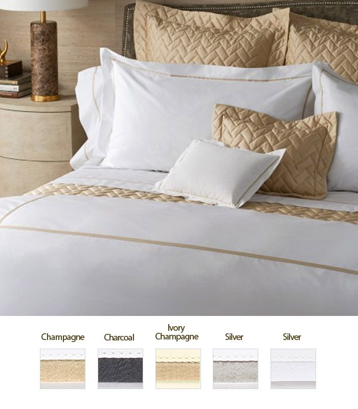 Gatsby Collection By Matouk | 1000 Thread Count Bed Linens. Luxurious ...
