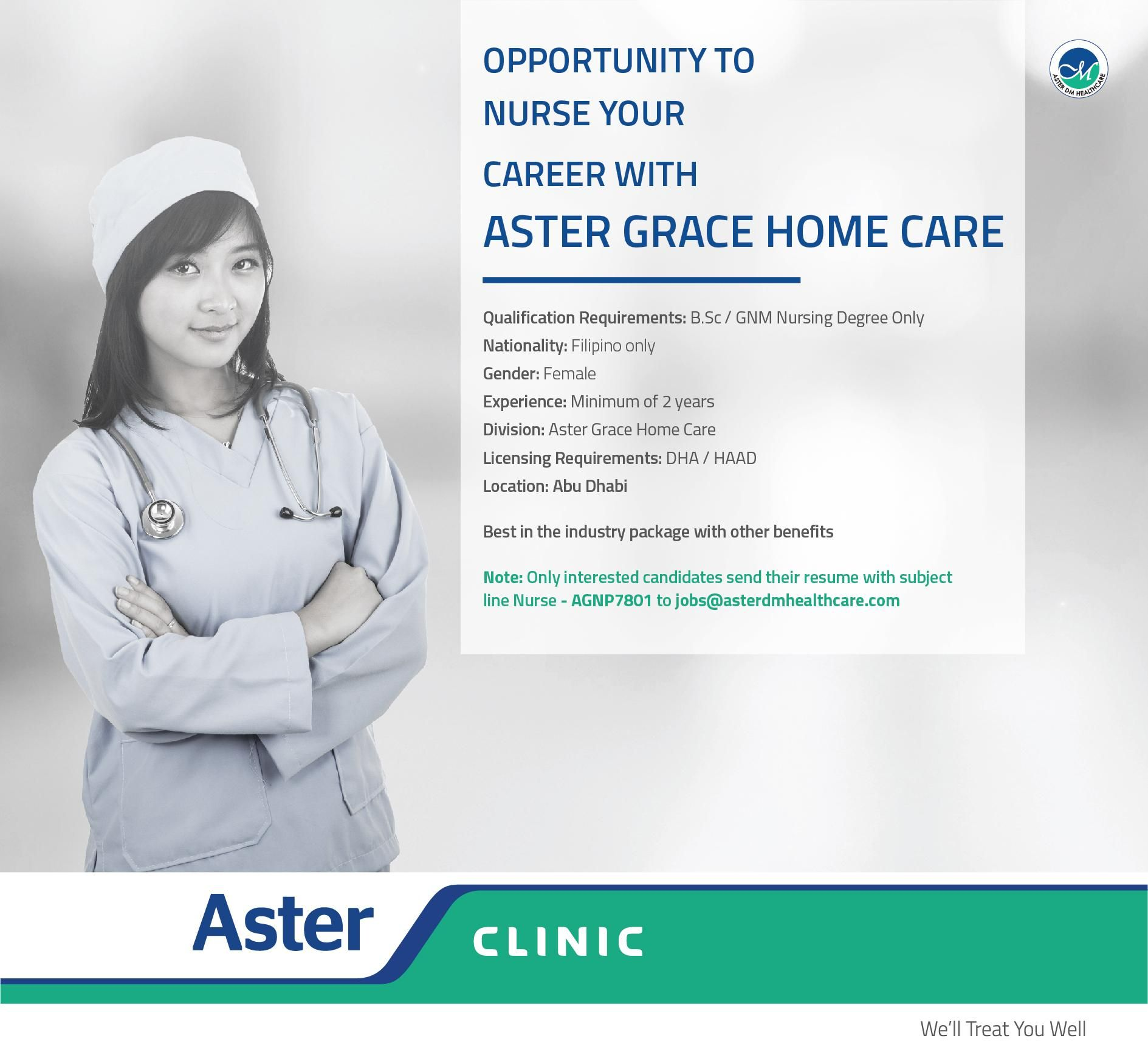 Nurses Job Openings UAE Nursing jobs, Job opening