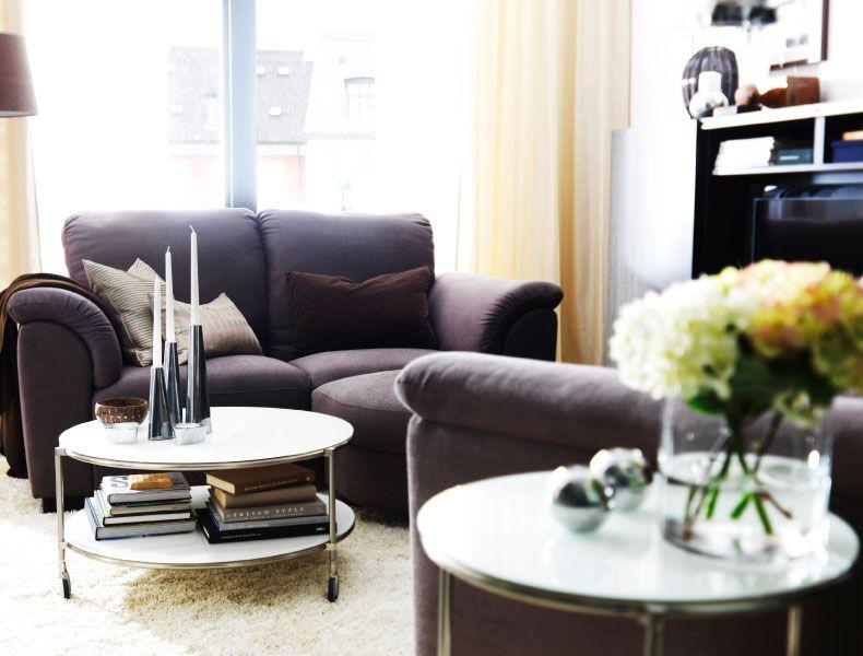 IKEA Österreich, Inspiration, Wohnzimmer, TIDAFORS 3er-Sofa mit - wohnzimmer grau braun weis