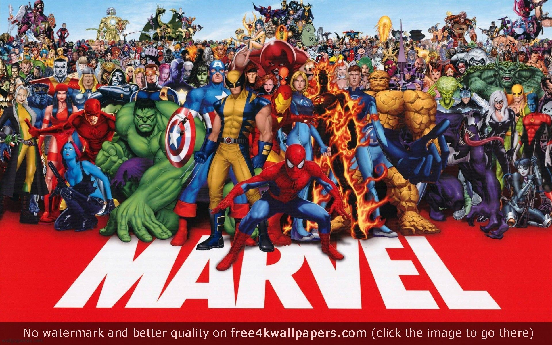 Wide Marvel Heroes 4k For Your Windows 7 Wallpaper With Marvel