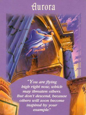Aurora - Psychic Tarot Messages from your angels by Doreen Virtue #tarot #Angels