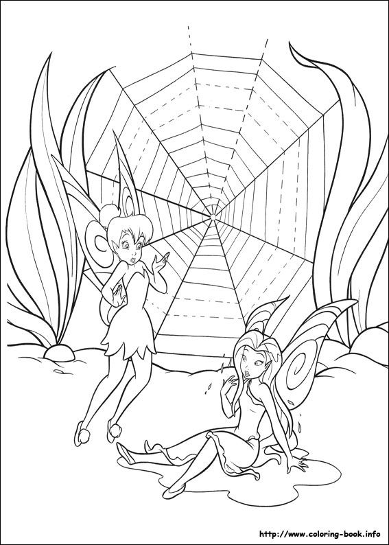 Tinkerbell coloring picture | Ausmalbilder | Pinterest | Colorear ...