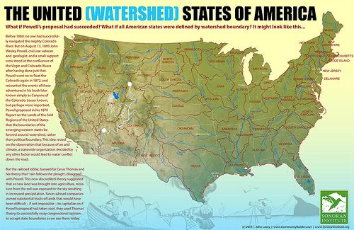 United Watershed States of America 2 | Historical Maps | Map, Us map ...