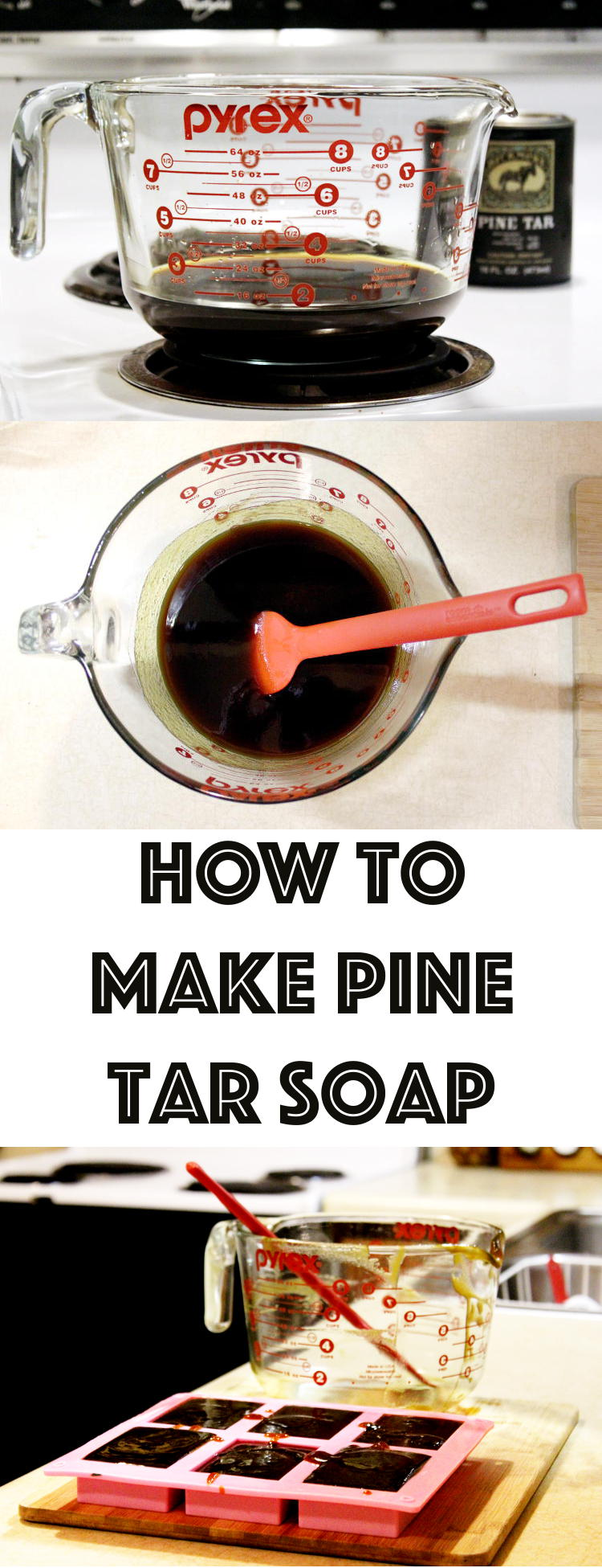 Pine Tar Soap Recipe for Psoriasis, Eczema and Other Skin