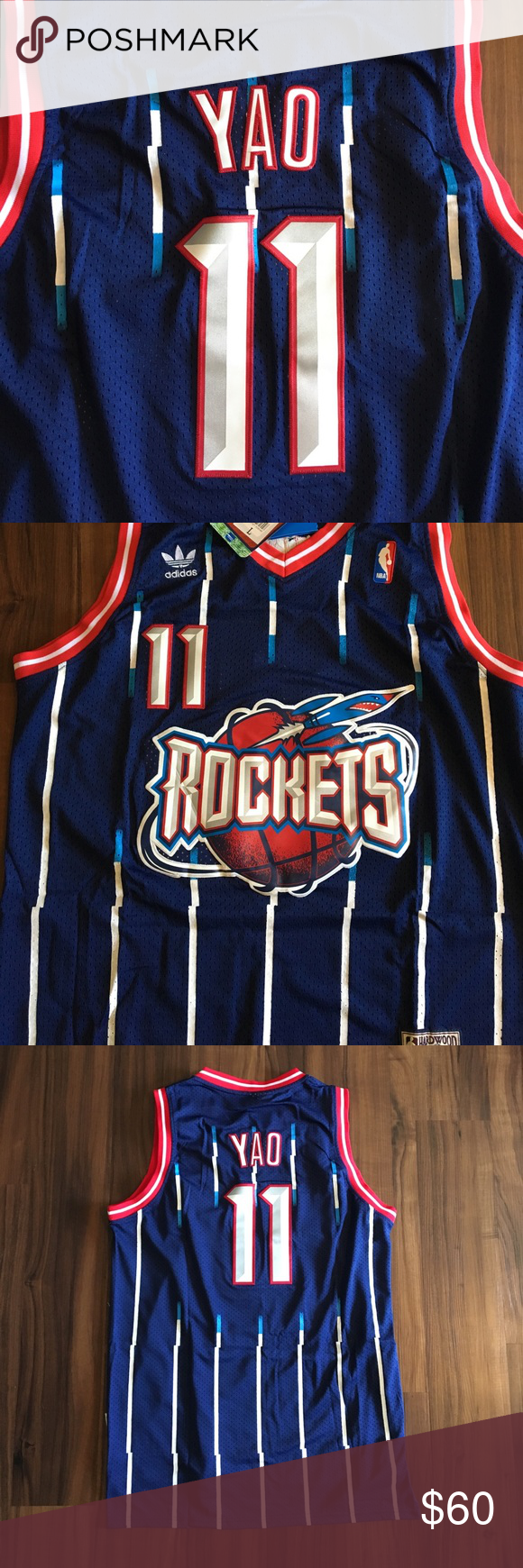 best service 48e9b 468b7 Throwback Yao Ming Rockets Jersey Brand new throwback #11 ...