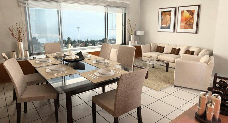 Wie Dekorieren Ein Wohnzimmer Und Esszimmer Kombination   Lounge Sofa