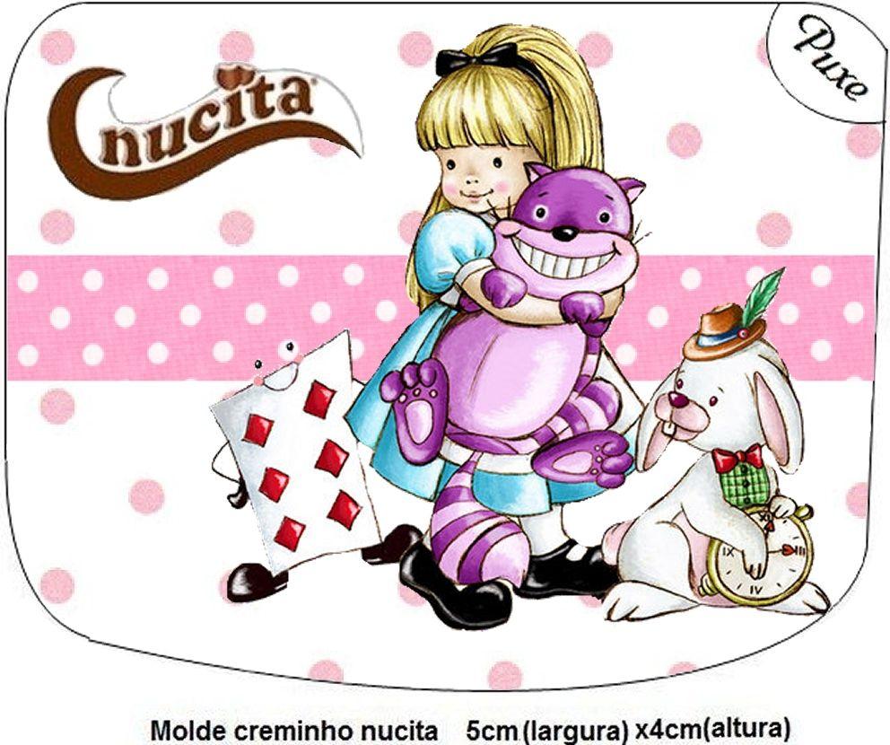 Imprimibles Alicia en el País de las Maravillas 5.   Ideas y material gratis para fiestas y celebraciones Oh My Fiesta!