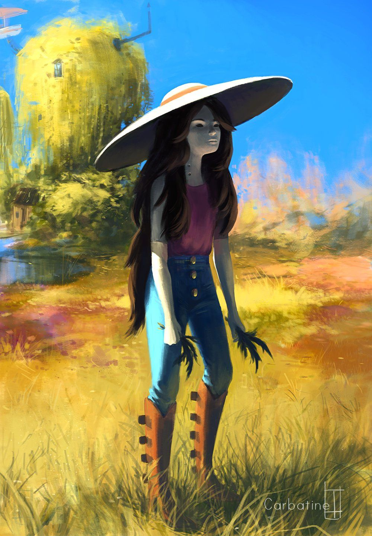ArtStation - Marceline, Glad C