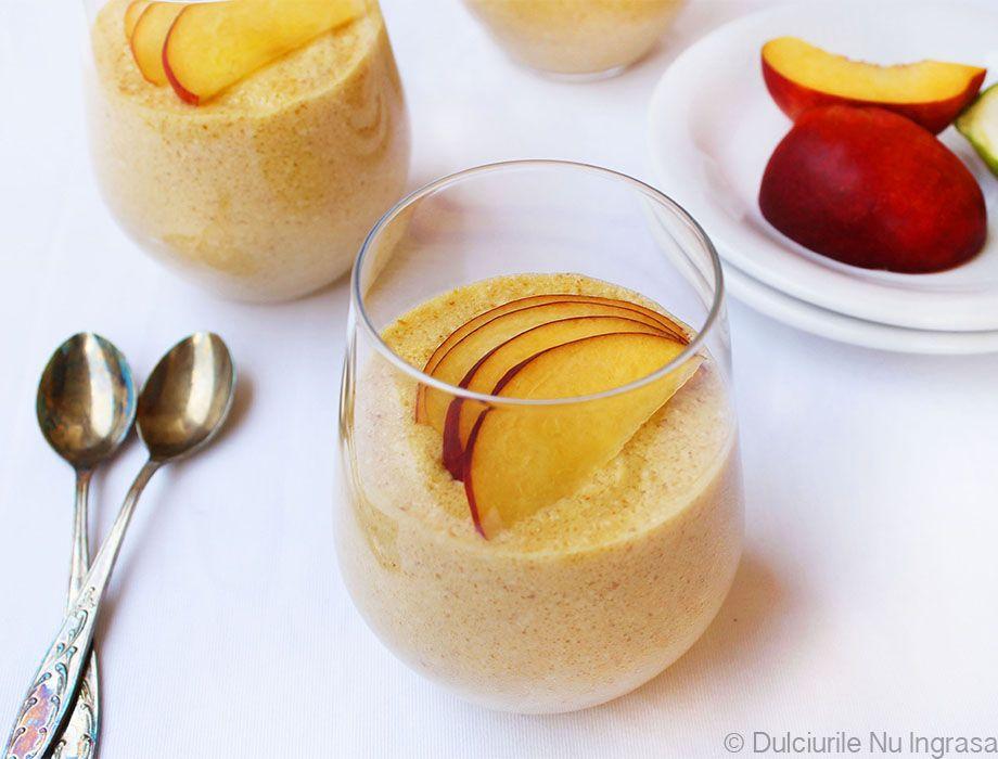 Mousse Dietetic de Nectarine (fara zahar, fara frisca, 100% sanatos)