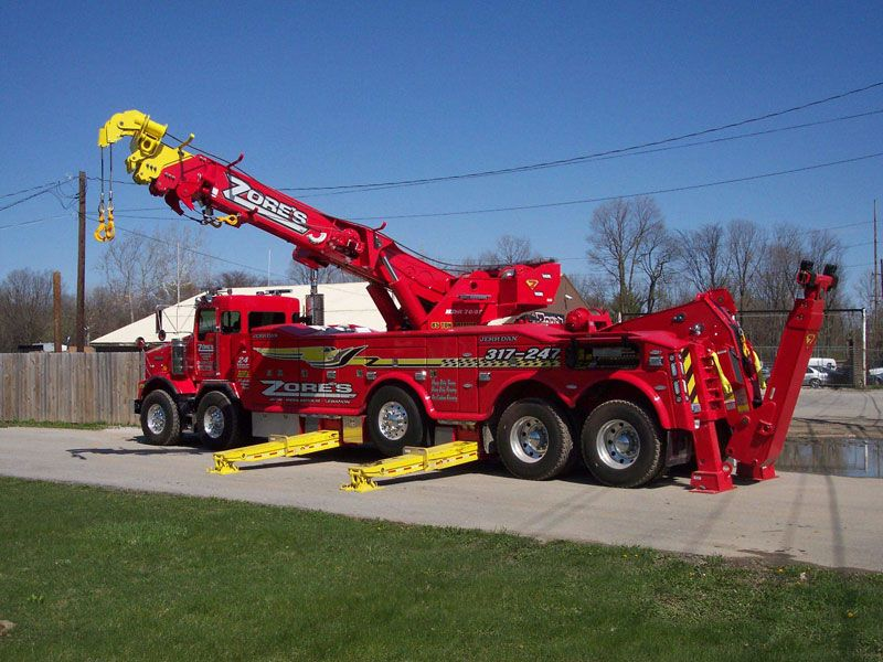 Rotator Large Truck Tow