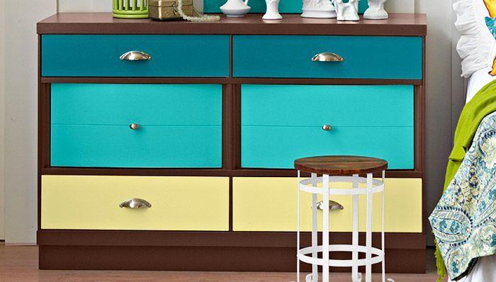 DIY Painted Dresser in 2020   Painted dresser, Diy chalk ...