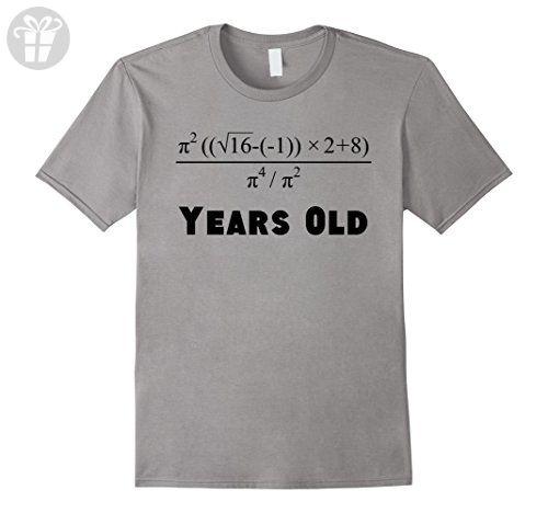 Men s 18 Years Old Algebra Equation Funny 18th Birthday Math Shirt