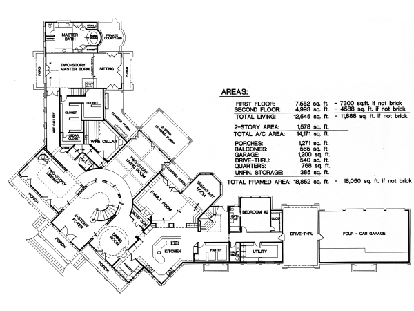 Unique House Plans plan 052h 0050 Unique House Plans Home Designs Free Blog Archive Luxury Custom