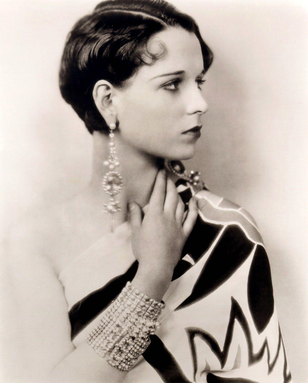 Raymond Templier - Bijoux - Louise Brooks, Actrice - 1925