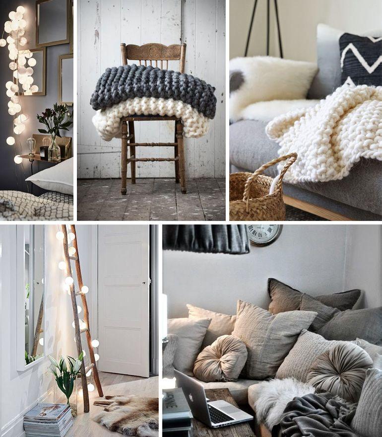 Quelques idées pour se créer une décoration très cocooning chez soi