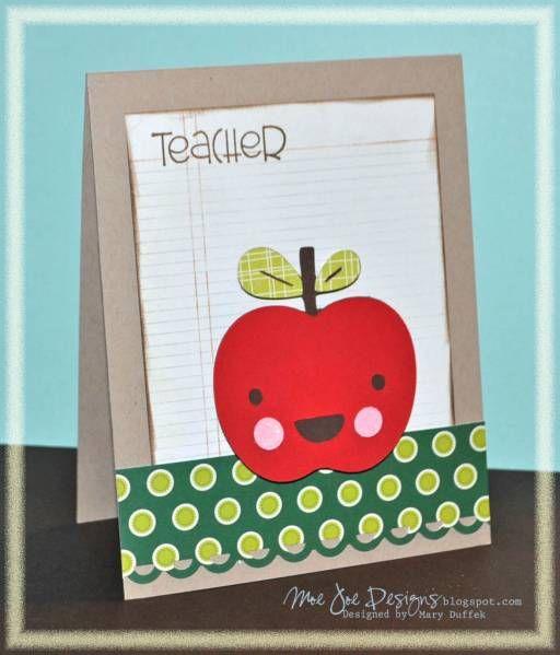 teacher appreciation  homemade cards cards paper crafts