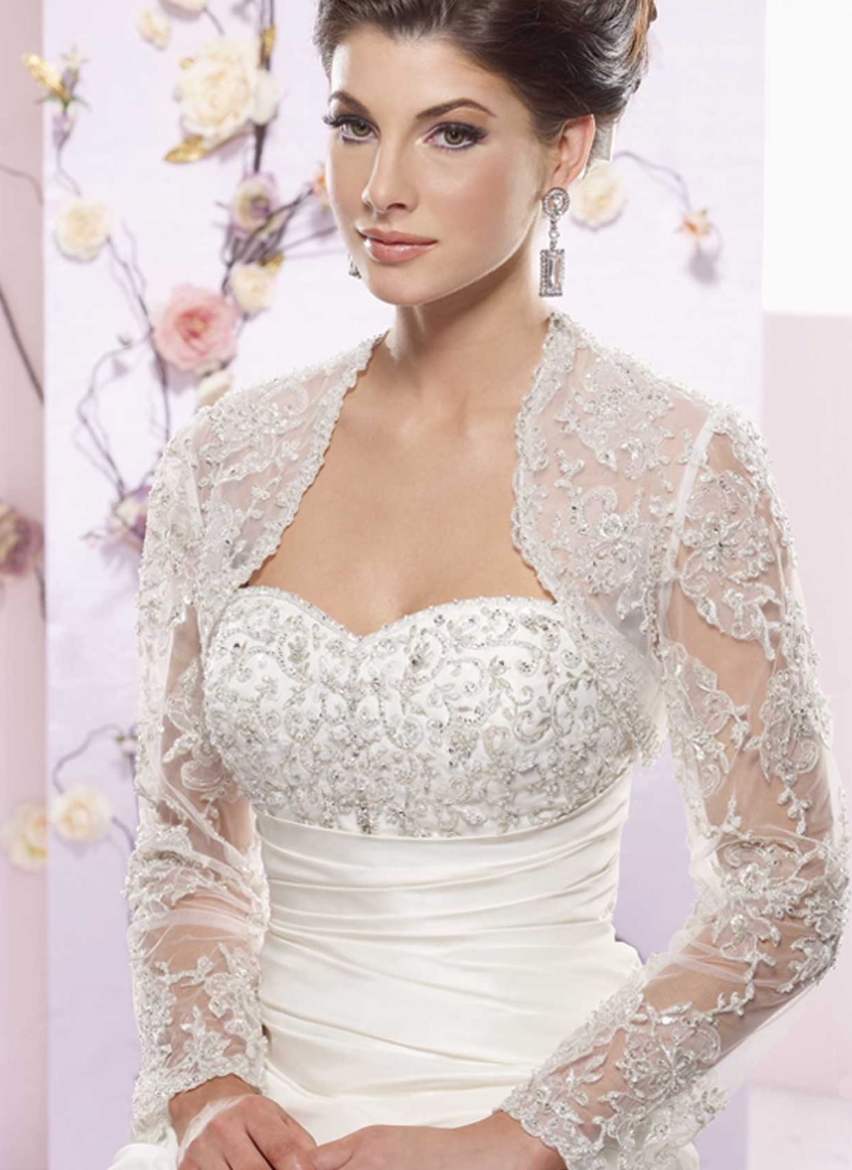 Wedding Dresses Bolero Jacket - Ocodea.com