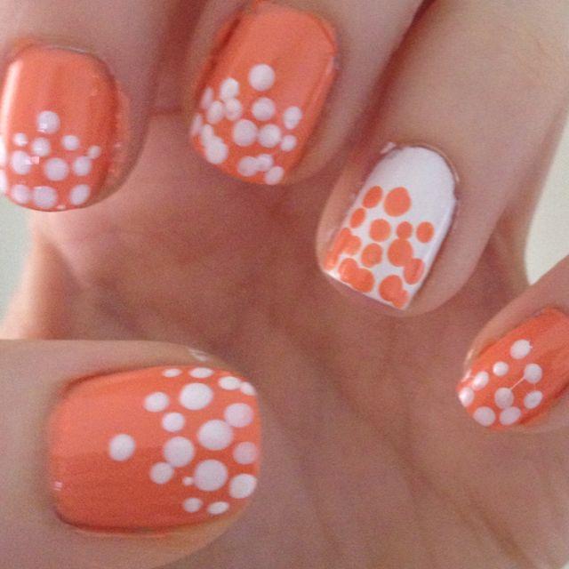peachy keen dots