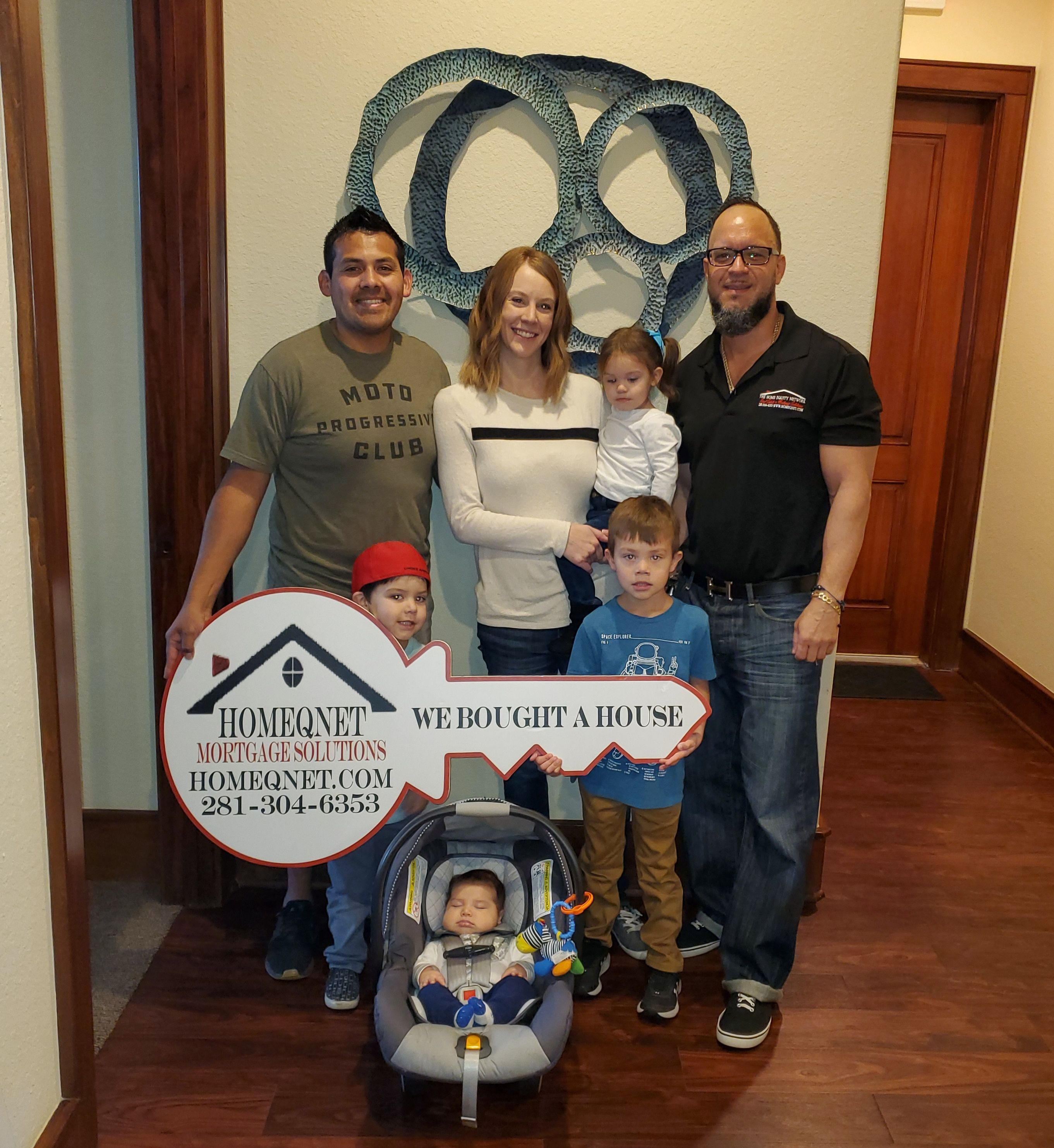 Congratulations to the garcia family on their home