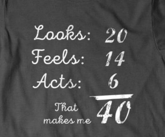 40 Years Old Birthday Gift 40th T Shirt Funny Gifts For Dad Boyfriend