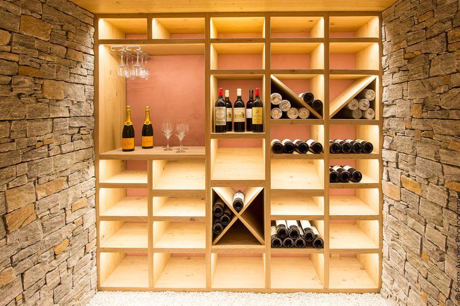 Une cave à vin contemporaine : De bonnes idées pour ranger vos ...