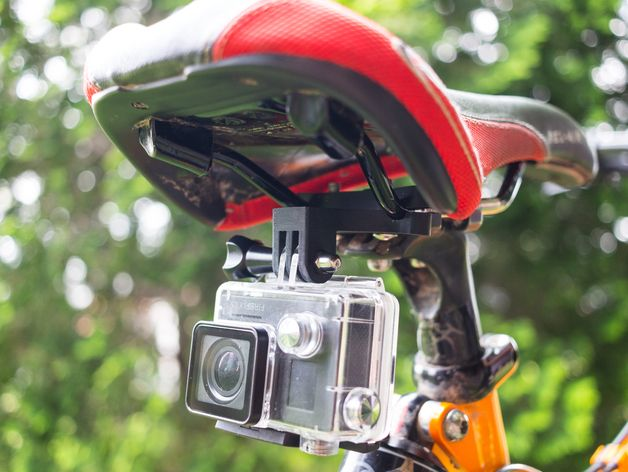 Needed A Gopro Mount For The Rear Of My Seat On My Bike Found