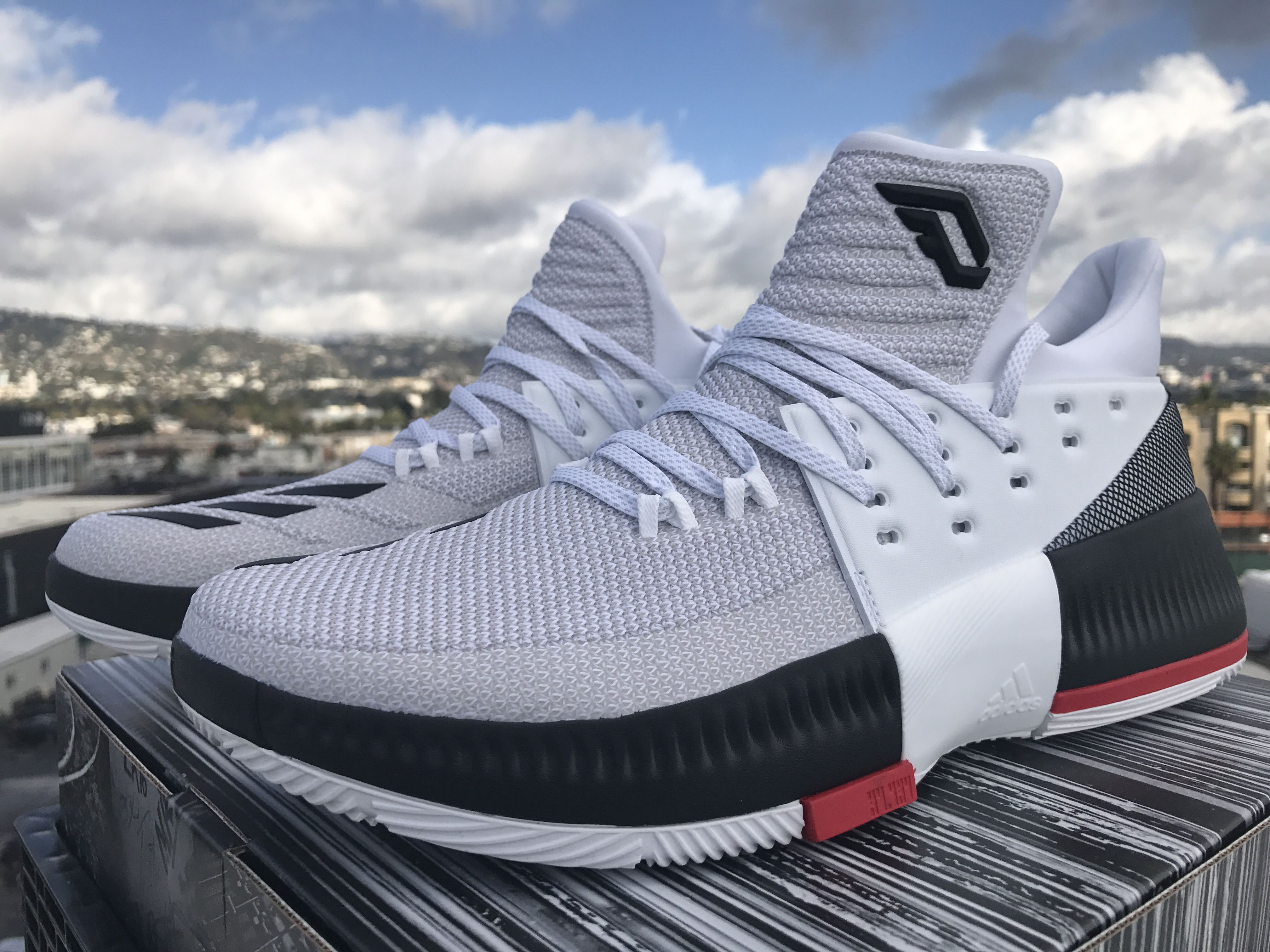 reputable site 98005 a7c2a ... kof live damian lillard gives back with the adidas dame 3 rip city  u2022 kicksonfire
