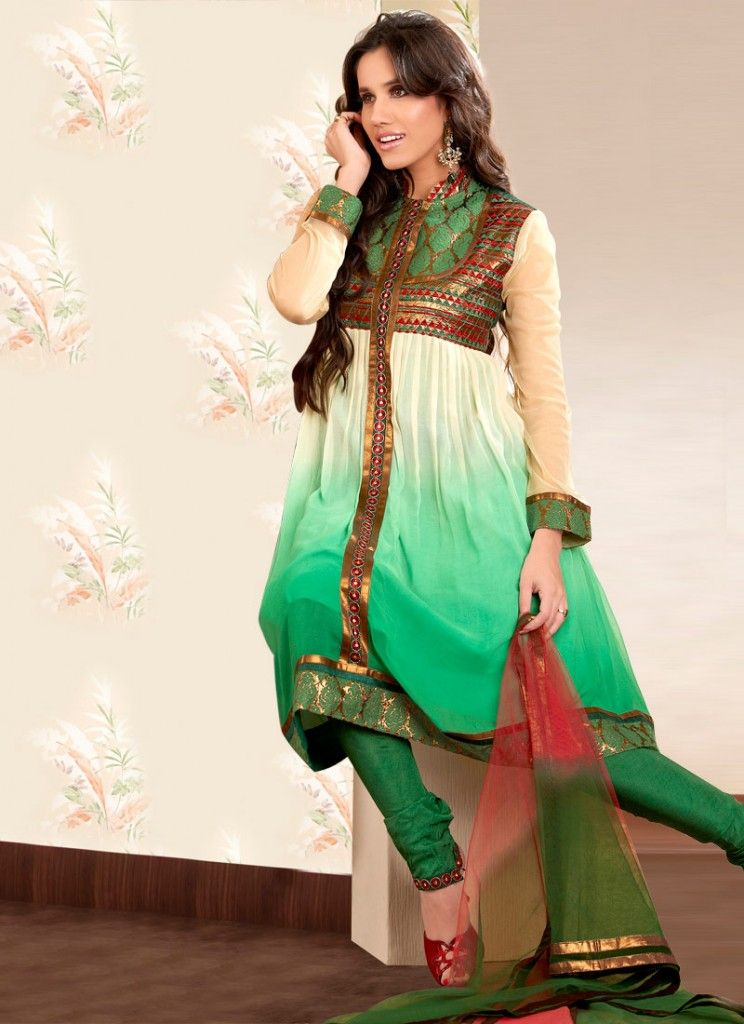 banarsi anarkali suit | Pakistani Anarkali Dresses Latest ...