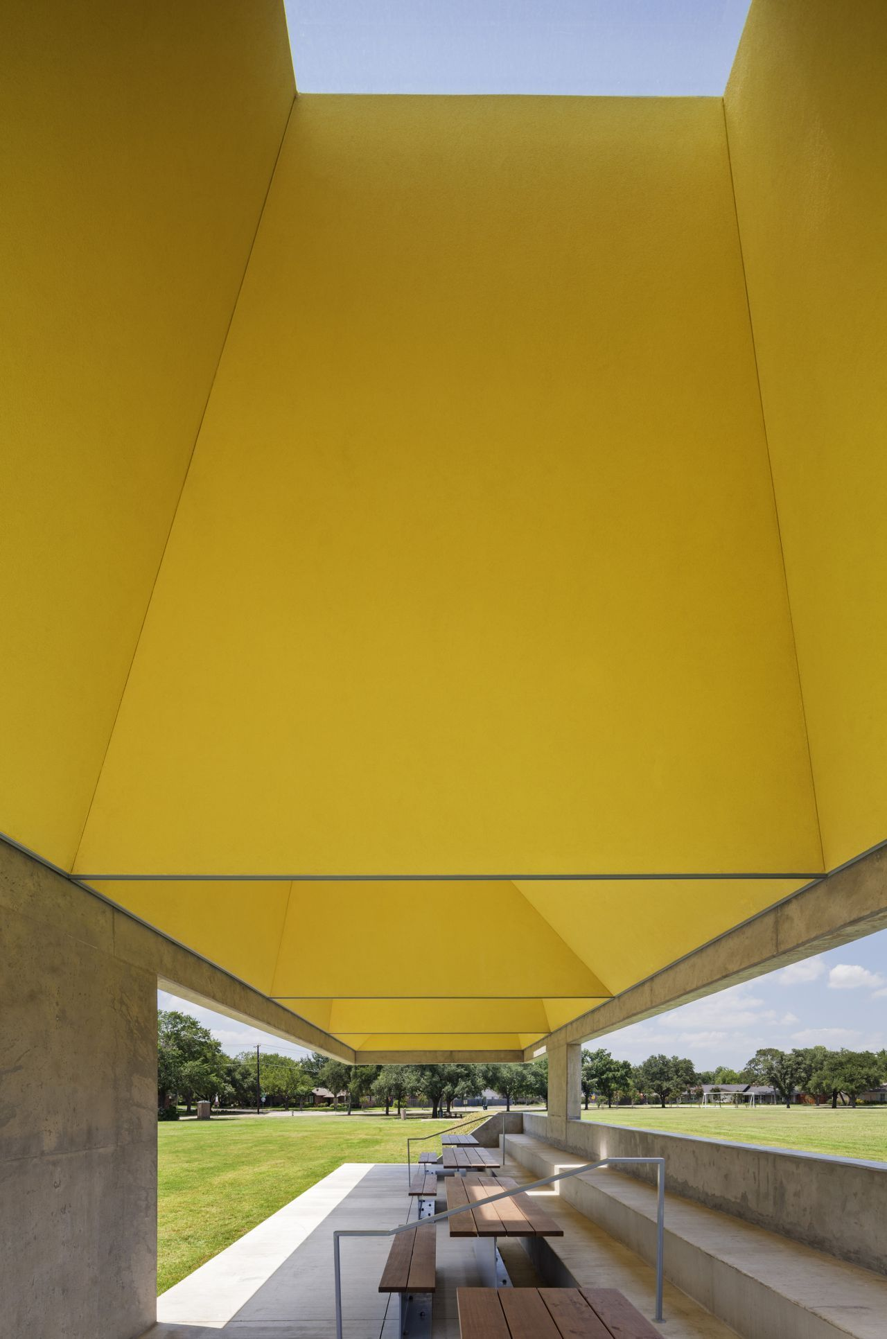 Webb Chapel Park Pavilion in Dallas by Cooper Joseph Studio