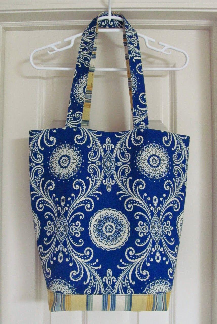 Savvy Handmade Cards: Handmade Beach Tote Bag