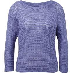 Photo of Tom Tailor Denim women's sweater with pattern, blue, plain, size S Tom TailorTom Tailor