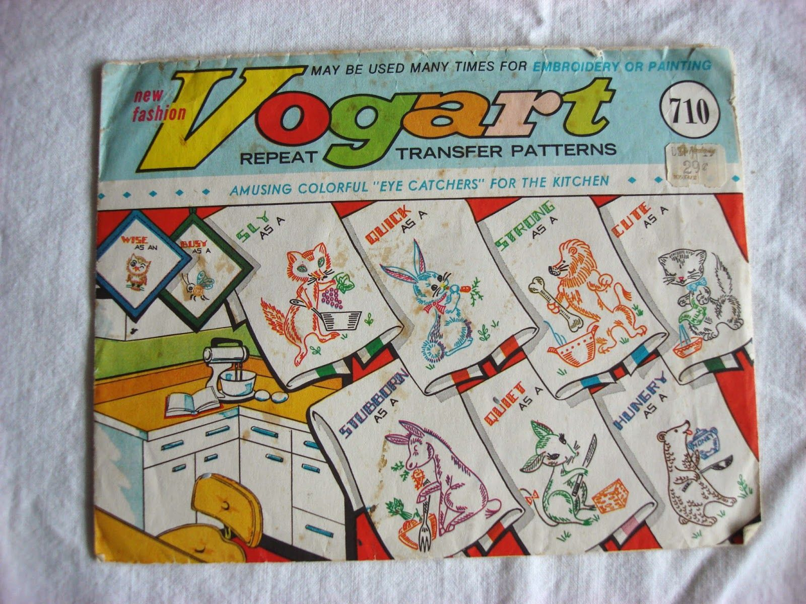 Bobby pin bandit vintage vogart embroidery patterns sewing bobby pin bandit vintage vogart embroidery patterns bankloansurffo Choice Image