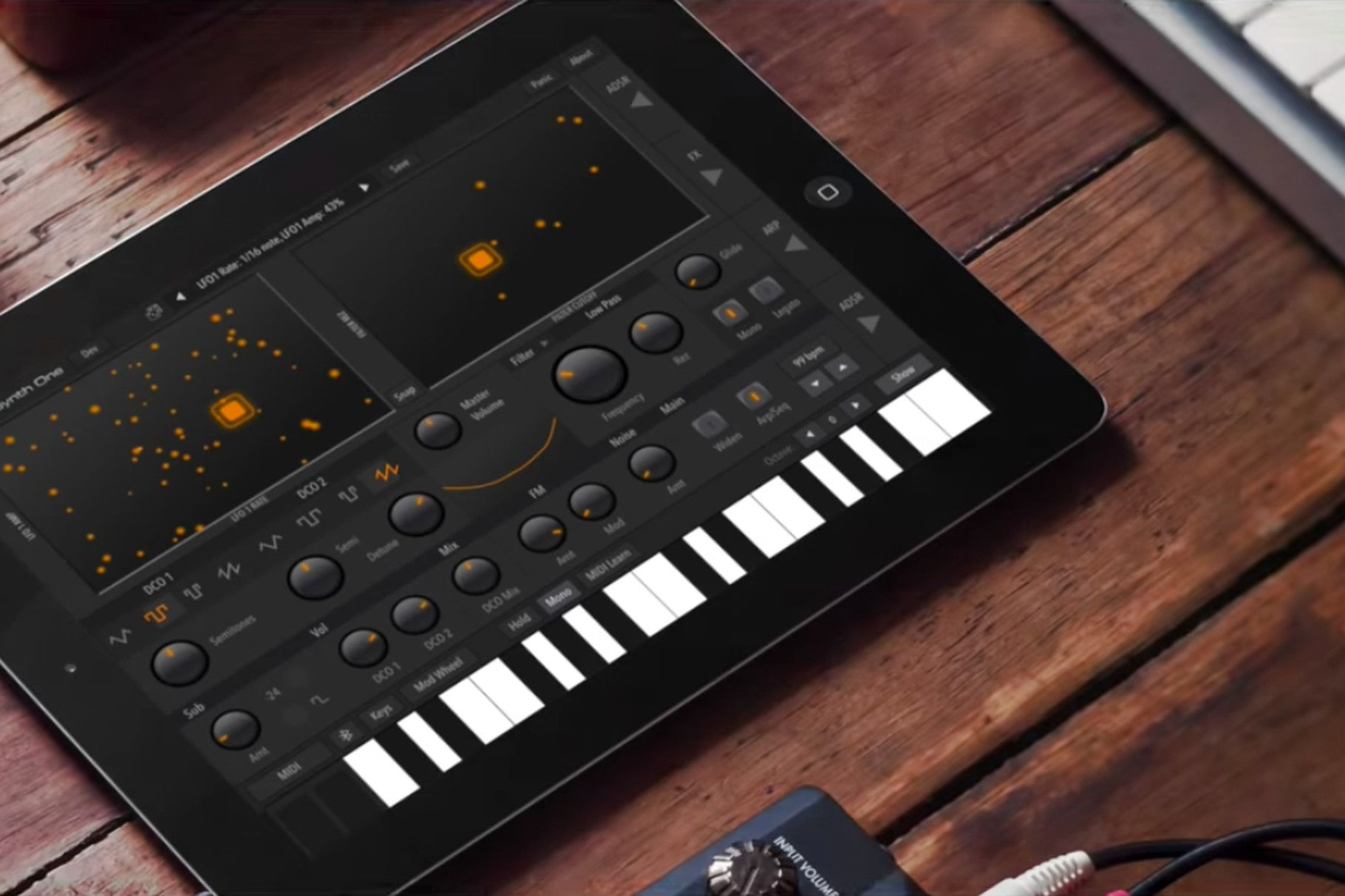 The AudioKit Synth One is a prolevel iPad synth that's