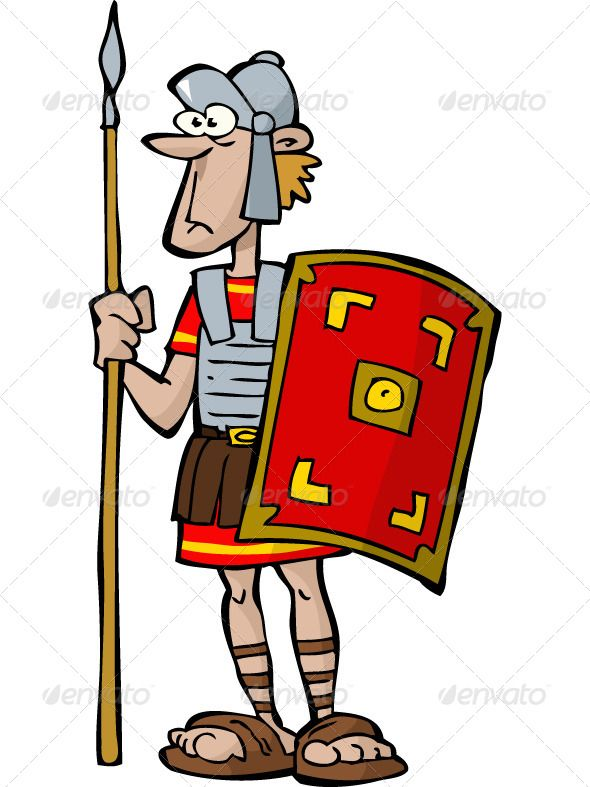 legionnaire cartoon  soldiers and armors Roman Soldier Head roman soldier clipart images