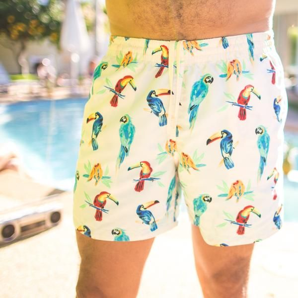 fc46e88506b07 Toucan Do Its | Chubbies Men's Toucan Print Swim Trunks – Chubbies Shorts