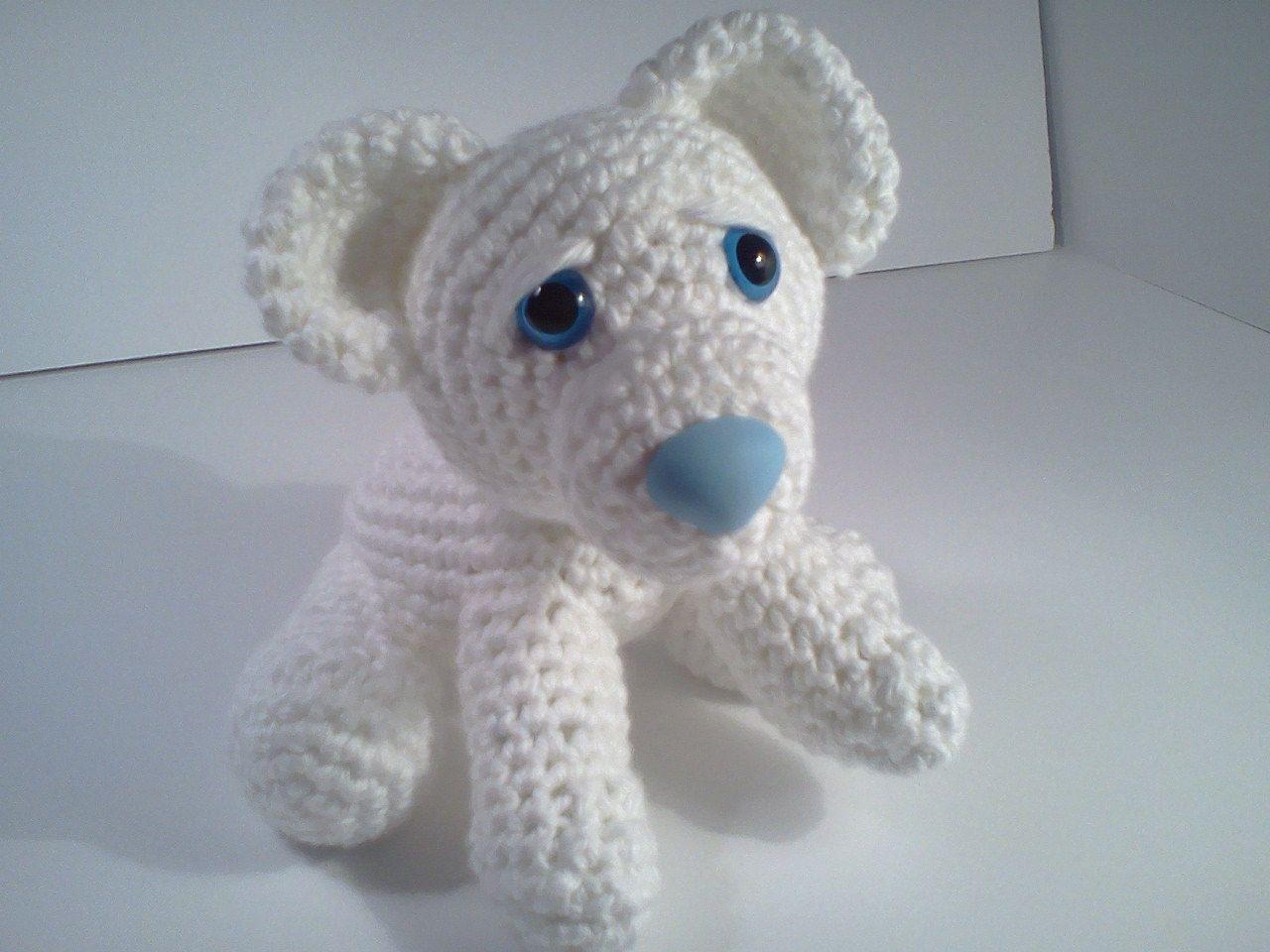 Serendipity Creative: Ava Baby Polar Bear Ami\'Pal Amigurumi Stuffed ...
