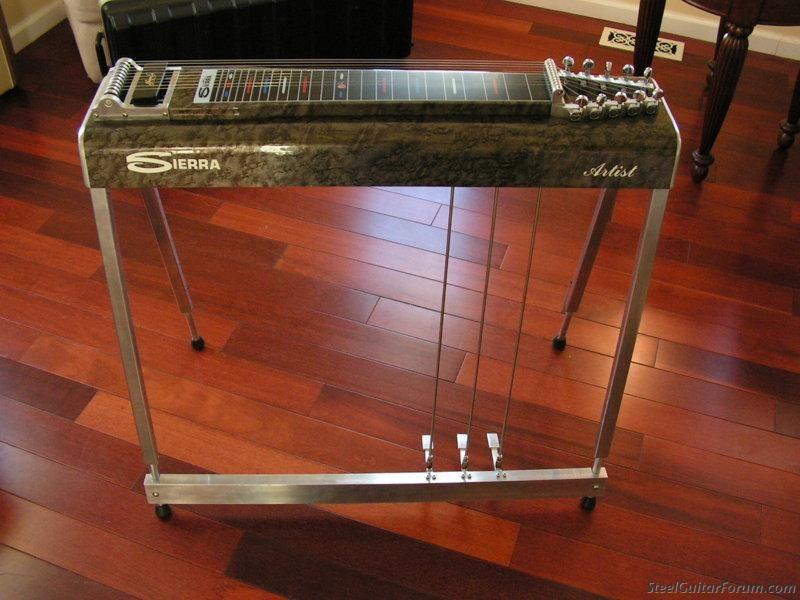 Sierra Artist S 10 3x4 Pedal Steel Guitar Lap Steel Guitar Steel Guitar