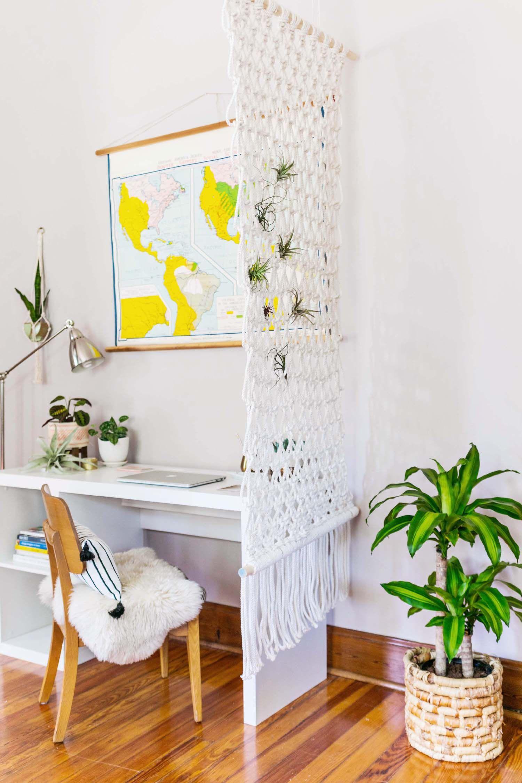 Macrame room divider diy self made pinterest divider room and