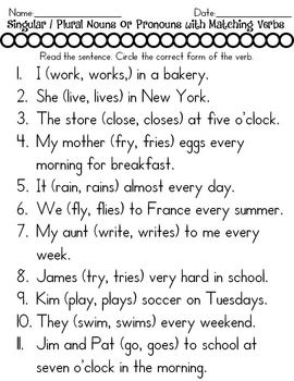 Contraction Worksheets For First Grade Word Singular And Plural Nouns  Plural Nouns Ccss Ela And Common Cores Codependency Therapy Worksheets Excel with Transformations Worksheet Worksheets  Singular And Plural Nouns Converting Fractions Worksheets Word
